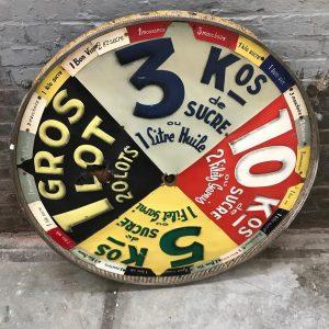 Roue de loterie années 50