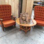 Paire de fauteuils Grand Repos Votre Maison Guillerme et Chambron