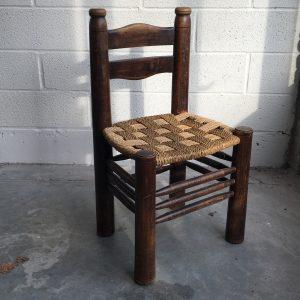 Ensemble de 6 chaises Charles Dudouyt