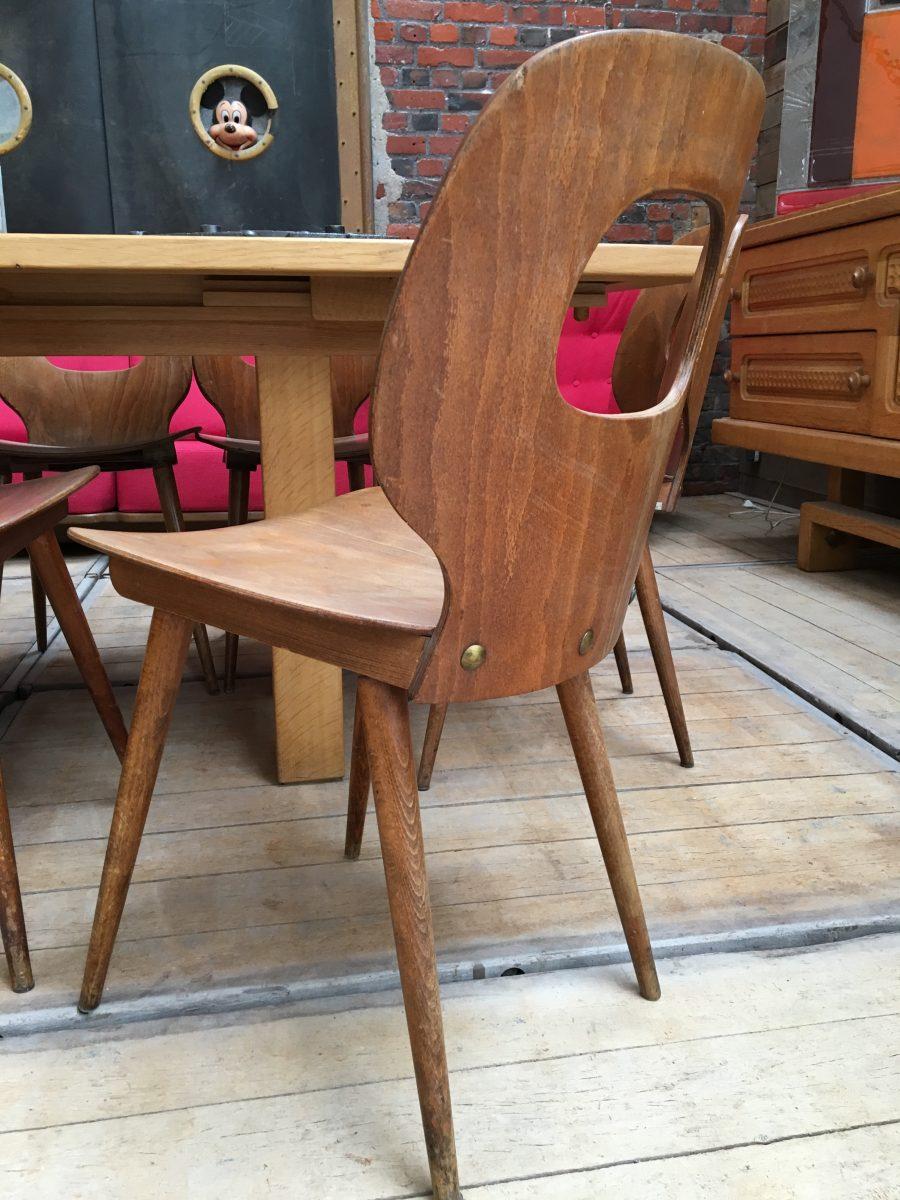 chaises de bistrot type baumann nord factory. Black Bedroom Furniture Sets. Home Design Ideas