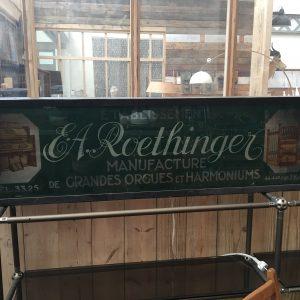 Enseigne Roethinger Manufacture
