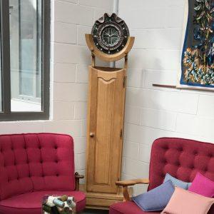 Horloge en chêne massif Votre Maison Guillerme et Chambron