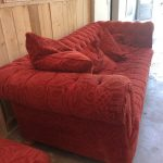 Grand canapé cosy esprit Chesterfield