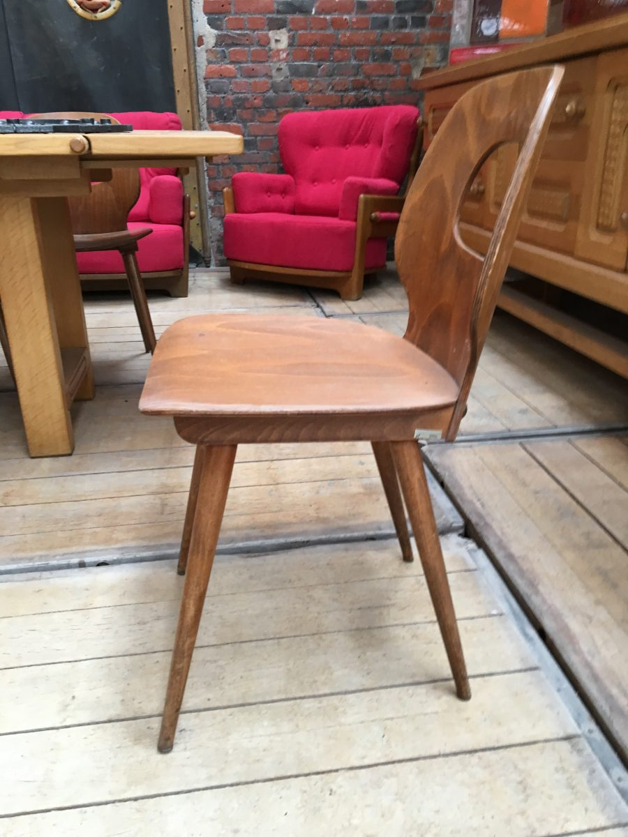 Chaises de bistrot type baumann nord factory for Chaise bistrot baumann prix