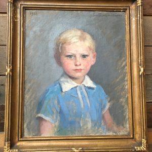 Paire de tableaux début 20ème