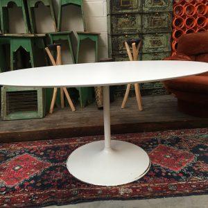 Table ovale dans l'esprit de  Saarinen