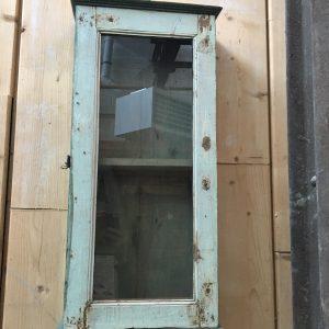 Petite armoire murale verte