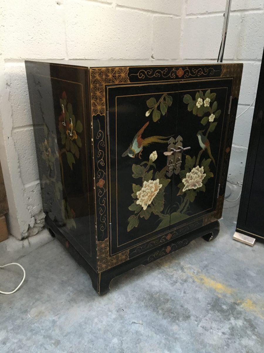 Petit meuble asiatique vintage nord factory for Meuble asiatique paris