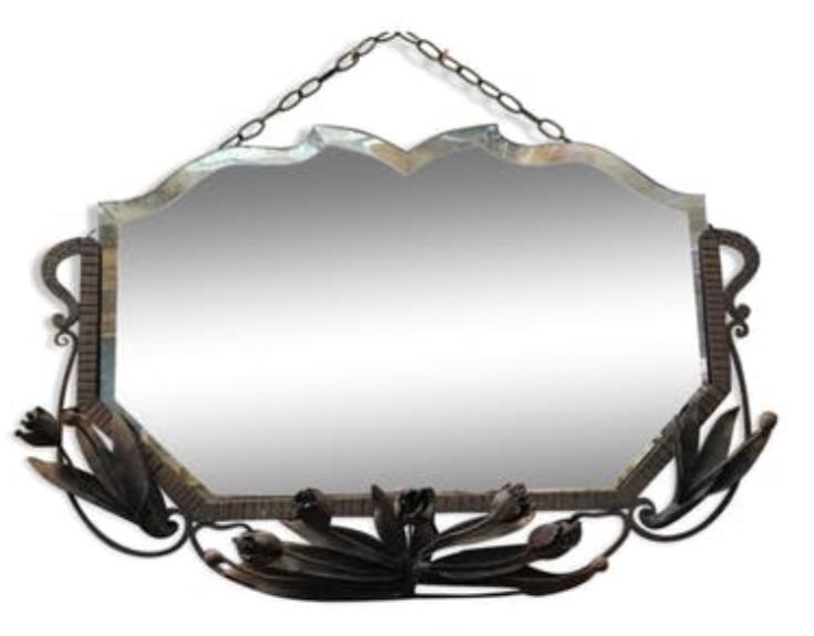 miroir biseaut art nouveau nord factory. Black Bedroom Furniture Sets. Home Design Ideas