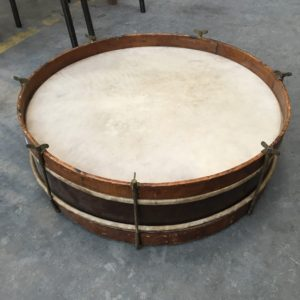 Ancien tambour de fanfare
