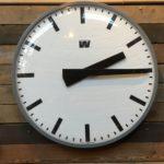 Grande Horloge d'usine Westerstrand Sweden