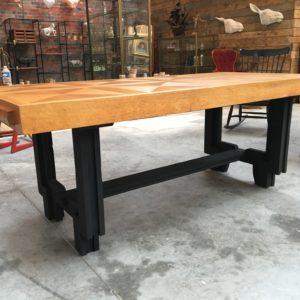 Table vintage en chêne