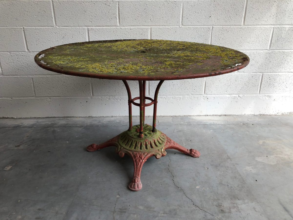 Beautiful Table Jardin Ancienne Metal Photos - House Design ...