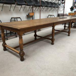Ancienne table de drapier début XXème