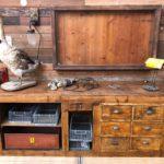 Ancien meuble de métier début XXème