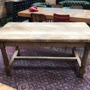 Petite table de ferme en chêne