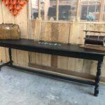 Ancienne console en bois