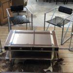 Suite de 4 chaises 602 Second par Mario Botta pour Alias, 1980s