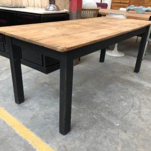 Ancienne table de ferme patinée