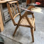 Ancien fauteuil de berger