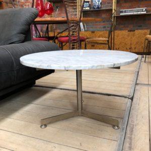 Table basse en marbre années 60
