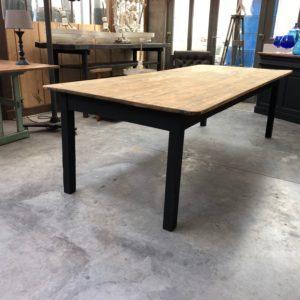 Très grande table d'atelier ancienne