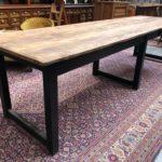 Très grande table d'atelier