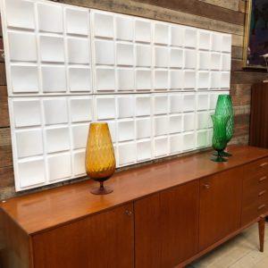 Eléments décoratifs muraux années 70
