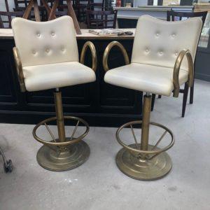 Paire de fauteuils de Casino