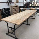 Grande table industrielle