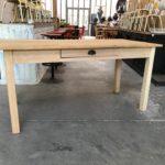 Table de ferme en hêtre