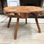 Table basse primitive