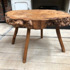 Table basse primitive