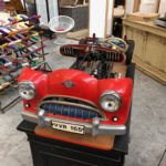 Ancienne voiture didactique d'auto école