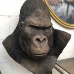 Buste de Gorille par Yves Gaumetou