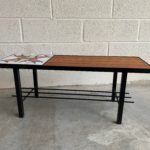 Petite table banc