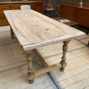 Ancienne table de ferme en chêne