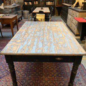 Ancienne table 7 tiroirs