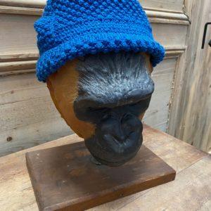 Masque de singe réalisé par Yves Gaumetou