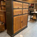 Ancien meuble de notaire en chêne