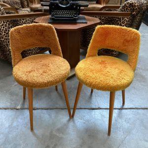 Paire de chaises en