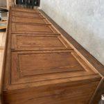 Ancien meuble panneauté début XXème