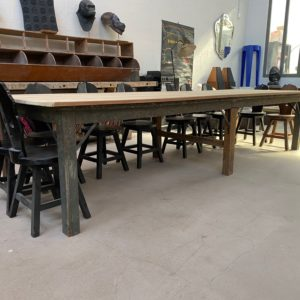 Grande table d'atelier