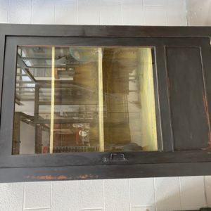 Ancien meuble vitrine