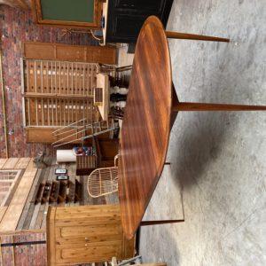 Table en palissade années 60