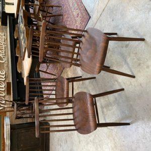 Suite de 4 chaise Baumann