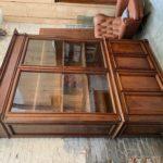 Ancienne vitrine de pharmacie fin XIXème