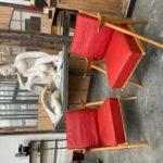 Paire de fauteuils dlg de Robin Kay