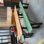 Ancienne table et bancs de Kermesse
