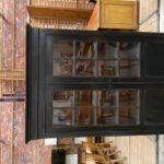 Armoire vitrine en merisier